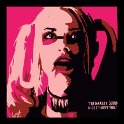 00127420_0676_thumb_00045782.png Télécharger fichier STL Pochoir à 3 couches Harley Quinn • Design pour impression 3D, sixxpm