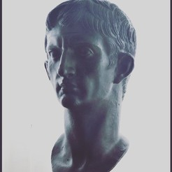 Download 3D printer templates Caesar Augustus - Emperor of Rome, FGArte