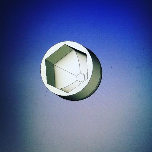 IMG_20200507_202659_521.jpg Download free STL file Plug for nut/bolt 17(M10) round head • 3D printer template, pariselectropolis