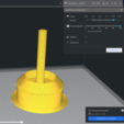 Download free 3D print files Pond/sink drain plug (Outside diameter: 66mm), pariselectropolis