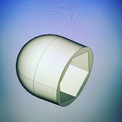 Download free 3D printer designs Plug for nut/bolt 17(M10) round head, pariselectropolis