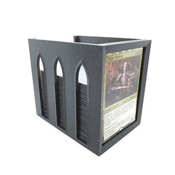 bibliotheque_magic_commander_MTGA_3D_print_01.jpg Download STL file Magic Commander Library - Magic the Gathering (MTGA) • Template to 3D print, COBRA3D