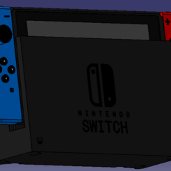 2020-06-11_14h48_35.png Download STL file Nintendo Switch • Design to 3D print, Tintong