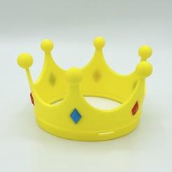Imprimir en 3D gratis La corona de la princesa, gx3dprint