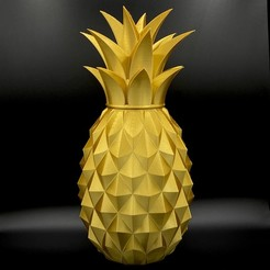 Download free STL files Pinapple box - (premium organizer container), gx3dprint