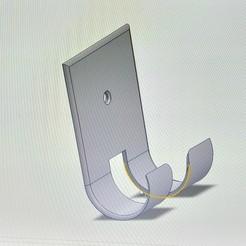 Télécharger objet 3D gratuit support téléphone murale, sebcolliette