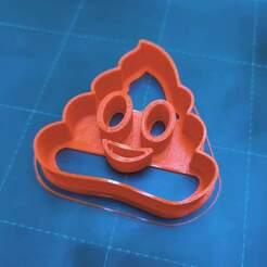 IMG_20210108_182636.jpg Télécharger fichier STL Coupe-caca Emoji • Design pour imprimante 3D, shinsuku
