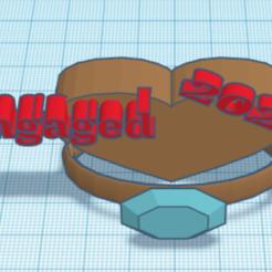 engaged2021a.PNG Télécharger fichier STL Engagé en 2021 • Design imprimable en 3D, jgirl2005