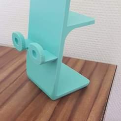 Télécharger fichier impression 3D gratuit Support téléphone, jon02fr