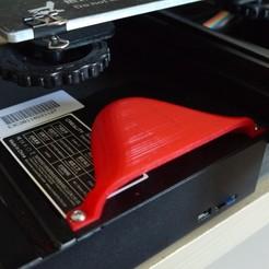 P1190122.JPG Télécharger fichier STL gratuit Creality Ender 3 Fan Cover Shield • Plan à imprimer en 3D, HC3DPrints