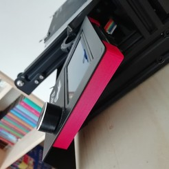 Download STL file Creality Ender 3 Screen Back Cover • 3D printing model, matthainsie