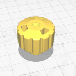 m6.png Download free STL file Cymbal Nut M6 • 3D printer design, HC3DPrints