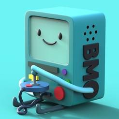 Download 3D printing files BMO fan art, santychava16