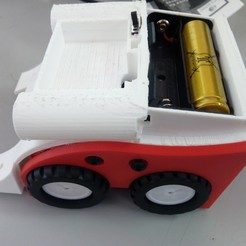Download 3D printing models Sumo 1k, Carrito, competencia 14cmx10cm, ELECTRONICATL