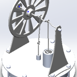 union.PNG Download STL file Stirling engine (Temperature difference based engine) • 3D printing object, ELECTRONICATL