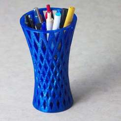 IMG_0038_pencil_holder_vase.jpg Download free STL file Pencil Holder • 3D printer model, David1729