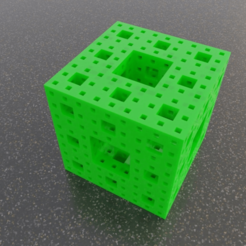 menger.png Download free SCAD file Menger Sponge • 3D printable object, David1729