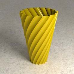 hypocycloid_vase_thingiverse_blender_renderman.jpg Download free STL file Fluted Vase • 3D printable model, David1729