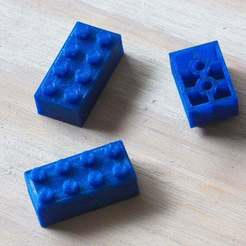 IMG_0002-1_lego_scad.jpg Download free SCAD file Parametric Lego-Style Bricks • 3D printing design, David1729