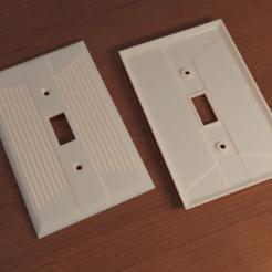 retro_wall_switch_cover_v6.png Télécharger fichier STL gratuit Couvercle d'interrupteur mural rétro • Modèle pour impression 3D, David1729