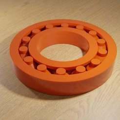 printable_bearings_blender_rendering.jpg Download free SCAD file Printable Bearing • 3D printing object, David1729
