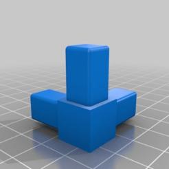 8118e2d243ba8b3d4f381772e16af795.png Download free SCAD file Square Tubing Connectors - Complete Set • 3D printer design, David1729