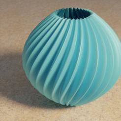 globe_b.png Télécharger fichier STL gratuit Globe Vase • Plan pour impression 3D, David1729