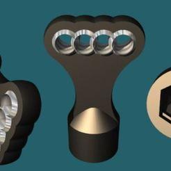 v2 AdBlue Audi pic3.JPG Télécharger fichier GCODE Clé Bouchon AdBlue Audi • Plan pour imprimante 3D, jaybay