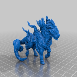 561fbf64cbec0c0c3f125833adb2b8b7.png Download free OBJ file Qilin • Design to 3D print, CanguMiniatures