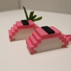 IMG_3699.JPG Télécharger fichier STL Sushi aux algues et écrevisses nigiri modulaires • Objet imprimable en 3D, Eff3DWeb
