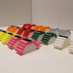 Télécharger STL All Modular Nigiri Sushi - série complète, Eff3DWeb