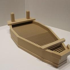 IMG_3762.JPG Télécharger fichier STL Bateau à sushi modulaire • Modèle à imprimer en 3D, Eff3DWeb
