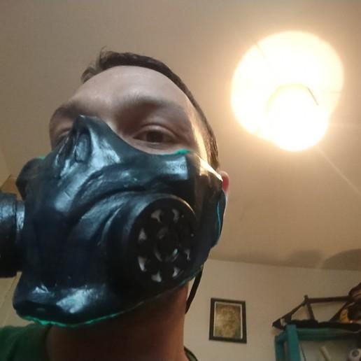 Covid Mask Mortal Kombat Scorpion 11 Mk Imprime En 3d Cults