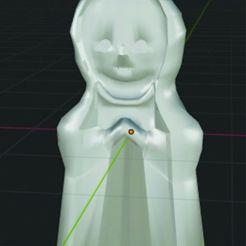 Descargar modelos 3D para imprimir Nuestra Señora de Fátima, diovanijoao