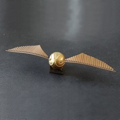 Golden_Snitch_01_Modif_Cults.jpg Télécharger fichier STL Vif D'or HARRY POTTER • Design pour imprimante 3D, Meca-Design