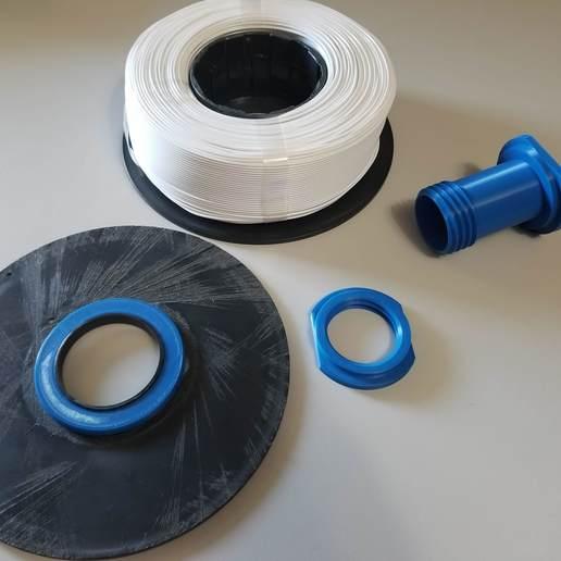 Download STL Filament Spool, L1ght0fDay