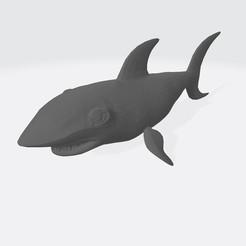 Télécharger fichier impression 3D gratuit Sharkie, Coenrad