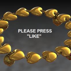 Télécharger objet 3D gratuit Bracelet et breloques, DixitaPrajapati