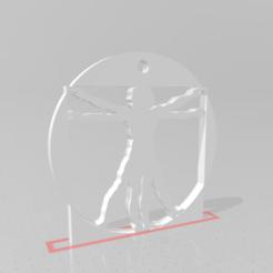 Vitruvian Man.png Download STL file Vitruvian Man • Model to 3D print, GiulioB