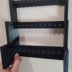 Télécharger plan imprimante 3D Organisateur de bijoux à 3 niveaux, carterdon