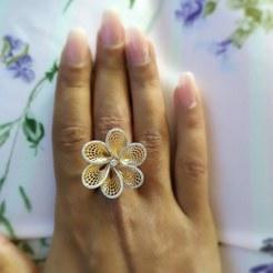 Descargar STL gratis anillo de flores, davidegherci