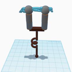 Télécharger objet 3D pioche fortnite AC/DC, jaemaxwellcha