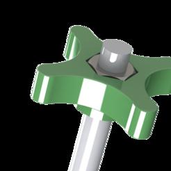 accesorio estrella.png Download GCODE file Star screwdriver accessory • 3D printer design, fede062