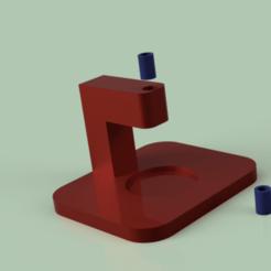 Single_Arm_Press_single_arm.png Download free STL file Centred hand press for SKX Holder • 3D printer object, MontyApFlange