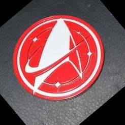 badge.jpg Download free STL file Discovery Logo • 3D print design, MontyApFlange