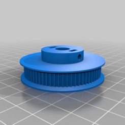 2426679c80e699606fe0458ad36b7fc6.png Download free STL file GT2 70 Tooth 8mm shaft  Belt Pulley • 3D printing template, MontyApFlange