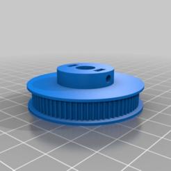 e1818e2d551dca2b2e44c8cf1390df02.png Download free STL file GT2 72 Tooth 8mm Shaft 6mm Belt • 3D printing design, MontyApFlange