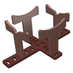 stand.jpg Télécharger fichier STL gratuit Modèle de stand de peinture • Design pour impression 3D, MontyApFlange