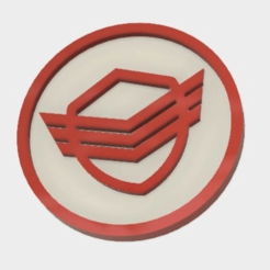 Security_Badge.png Download free STL file 'The Orville' Security Badge • Object to 3D print, MontyApFlange