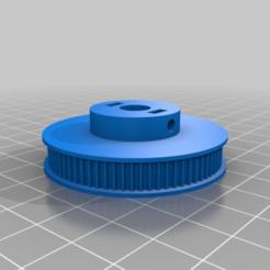 113a55ef28ee9c81e112e0483edd416d.png Download free STL file GT2 74 Tooth 8mm shaft Pulley • 3D printer model, MontyApFlange